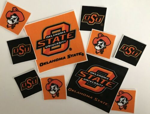 Sports Patches Iron On Fabric Appliques Oklahoma State