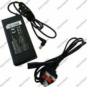 SONY-VAIO-19-5-4-7A-90W-LAPTOP-ADAPTER-CHARGER-FOR-PCG-91211M-UK-Mains-Cable
