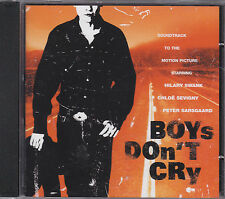 BOYS DON'T CRY - o.s.t. CD