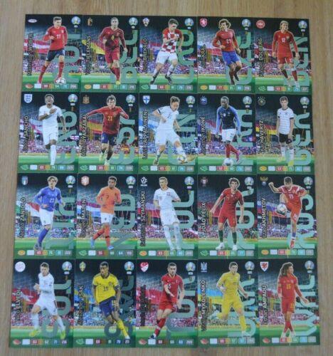 Panini Adrenalyn XL UEFA Euro EM 2020 toutes les 20 Wonder Kid cartes complet