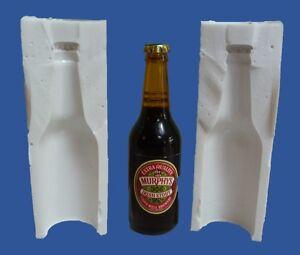 8cm-3D-Miniatura-Bottiglia-di-Birra-Stampo-in-Silicone-per-Topper-Torta