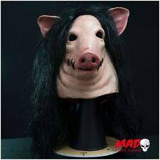 Official SAW Pig Latex Collectors Mask Halloween Horror Film Movie Collectible