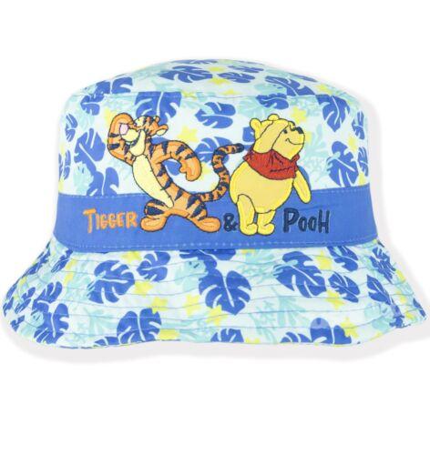 Disney Winnie The Pooh Baby Boys Bucket Hat Summer Sun Hats Caps 0-3 Years