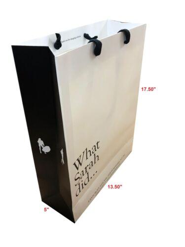 100 fort Designer Paper Carrier//Sacs Cadeau Misprinted Grand UGB Extra Large
