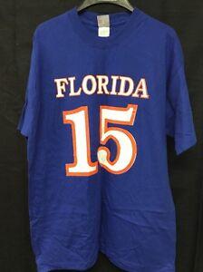 buy online 710a9 b1742 Details about University Of Florida Gators Tim Tebow 15 GOAT T-shirt Medium  Hanes Cotton WS9