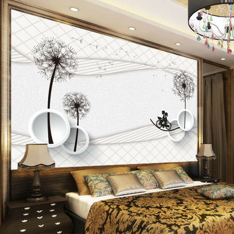 Vibrant Flowers 3D Full Wall Mural Photo Wallpaper Printing Home Kids Decoration