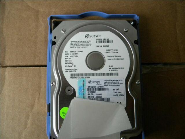 7200RPM SATA Internal Hard Drive IBM 42C0450 80GB