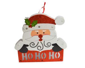Babbo-Natale-Insegna-Legno-Luminosa-Decorazioni-Natalizie-Dietroporta-29x29-cm