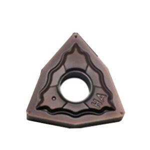10Pcs DESKAR WNMG080408-HA Carbide inserts For Stainless steel Replace KORLOY