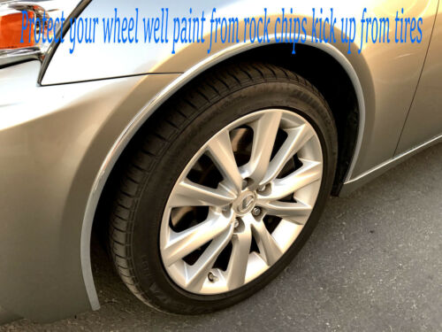 Set of 4 Chrome Fender Wheel Well Trim Molding For KaModels 2007-2018