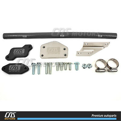 2004.5-2005 Chevy Duramax LLY EGR Blocker Plate Package w// Finger Stick Modifier