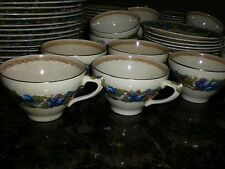 Crown Ducal  Florentine Cup and Saucer  1954  Vintage