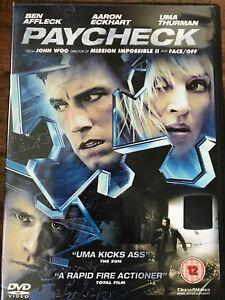 Ben Affleck PAYCHECK ~ 2003 Phillip K Dick Futuristic Sci-Fi