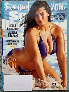 2016 Sports Illustrated Anual Maiô Emitir Ashley Graham Ronda Rousey Ebay