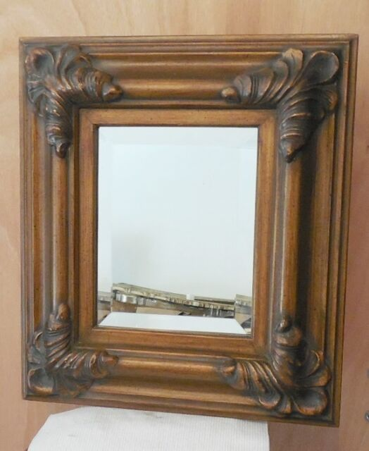 "Two Large Solid Wood ""38x50"" Rectangle Beveled Framed Wall Mirrors"