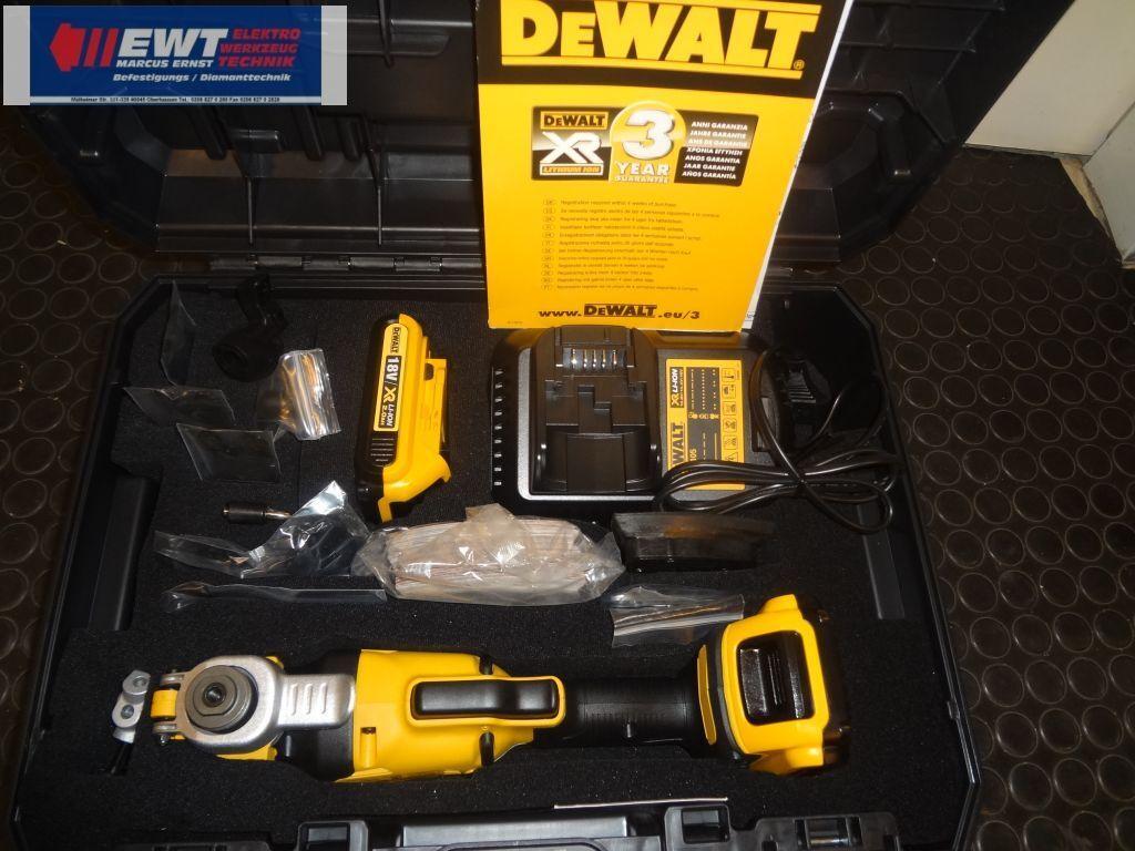 DeWALT DCS355D2 Oszillierendes 18,0 Volt/2,0Ah Akku Multi-Tool 36 Tlg.DCS 355 D2