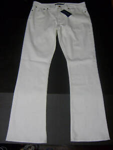 Pony Bianco Jeans Emblem 31 79 Ralph 33 Nwt Lauren X denim Donna in 36 Denim Sz EWqCqS4T