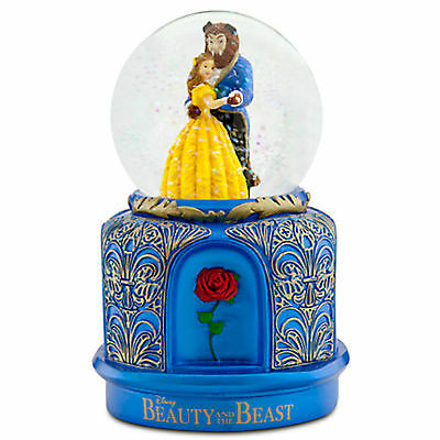 DISNEY BEAUTY & THE BEAST The Broadway Musical SNOWGLOBE NEW IN BOX
