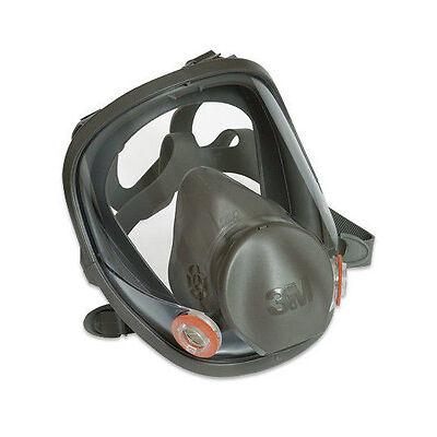 3M Atemschutz 6800M Vollmaske Gas Maske Silikon Größe M