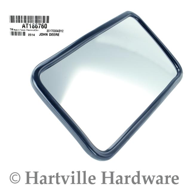 "Side View Mirror 8/"" X 3/"" CONVEX John Deere Gator RSX XUV 1.75/"" TUBE  Rear View"