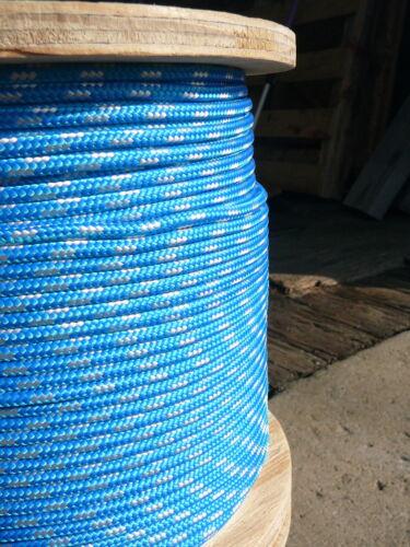 "NovaTech XLE Halyard Sheet Line Dacron Sailboat Rope 3//16/"" x 50/' Blue//White"
