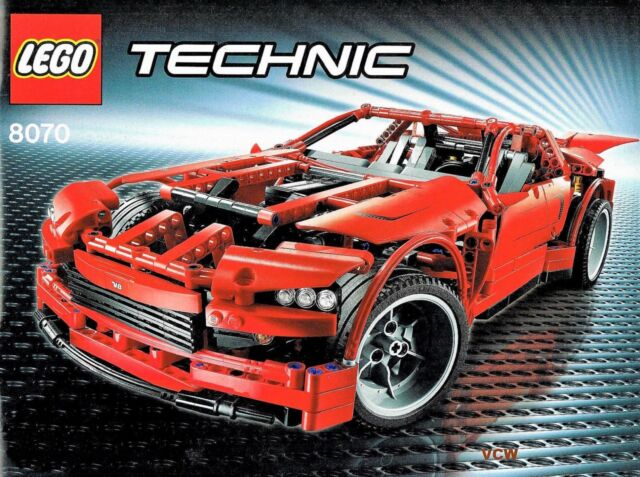 LEGO Technic 8070 - Super Car mit Bauanleitung ohne OVP
