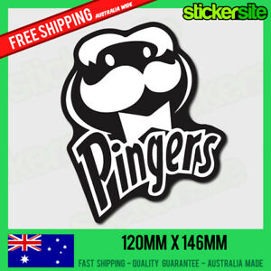 PINGERS-Sticker-Decal-DRIFT-FUNNY-JDM-DRUGS-Dope-Weed-Ecstasy-FUNNY-CAR-DECAL