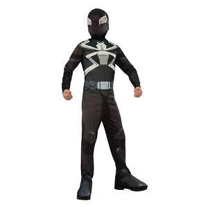 Ultimate-Spider-Man-Agent-Venom-Costume-Marvel-LARGE-12-14-NEW-Rubies-610872