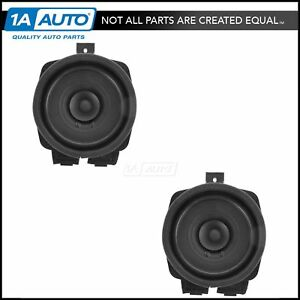 Image Is Loading Ac Delco Door Speaker Driver Penger Pair For