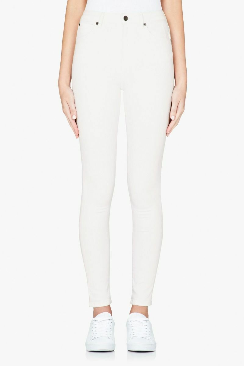 Sass and Bide Yearn to fly Skinny High Rise Jeans Größe 25 Weiß BNWT   220.00