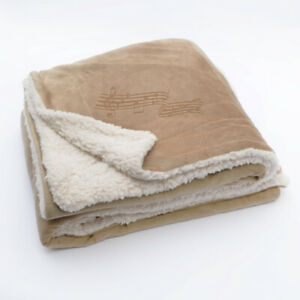 Music-Notes-Fleece-Blanket-NEW-Choose-from-3-Colors-Minky-Sherpa-50-034-x-60-034