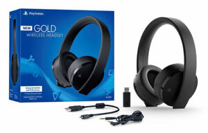 BRAND-NEW-PlayStation-Gold-Wireless-Headset-PlayStation-4-ps4-FACTORY-SEALED