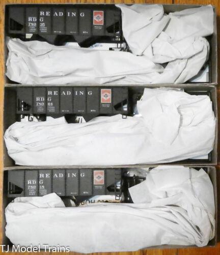 Accurail HO #8089 Reading (3 pack) USRA Twin Hopper Kits (Plastic Kit)