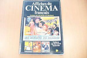 Belle Rare Livre Affiches Du CinÉma FranÇais - Borga & Martinand 1977 !! A Saisir Lustre Brillant
