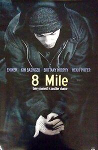 8 MILE EMINEM Movie Poster 2002 Funky   eBay