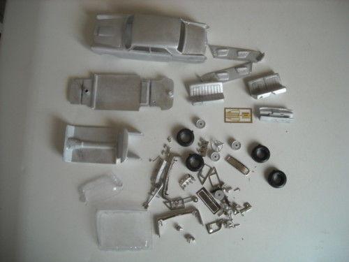 Austin A110 Mk II De Luxe 1 43rd scale white metal kit by K & R Replicas
