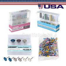 Dental Diamond Burs Cups Composite Polishing Kit For Low Speed Handpiece Ra Hp