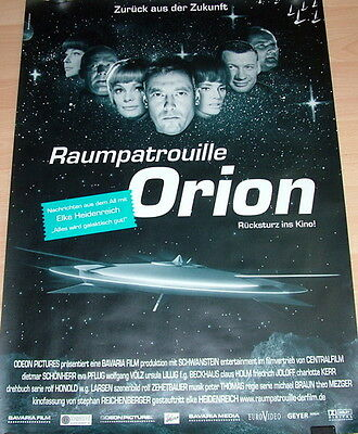 RAUMPATROUILLE ORION original Kino Plakat A1 gerollt