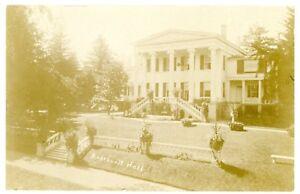 Image Is Loading Skaneateles Ny Roosevelt Hall Mansion Rppc Postcard