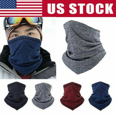 The Fla-Sh Microfiber Neck Warmer Face Mask Ski Mask Neck Gaiter Face Scarf Outdoor Sports