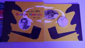 10-euros-belgique-argent-2003-Simenon