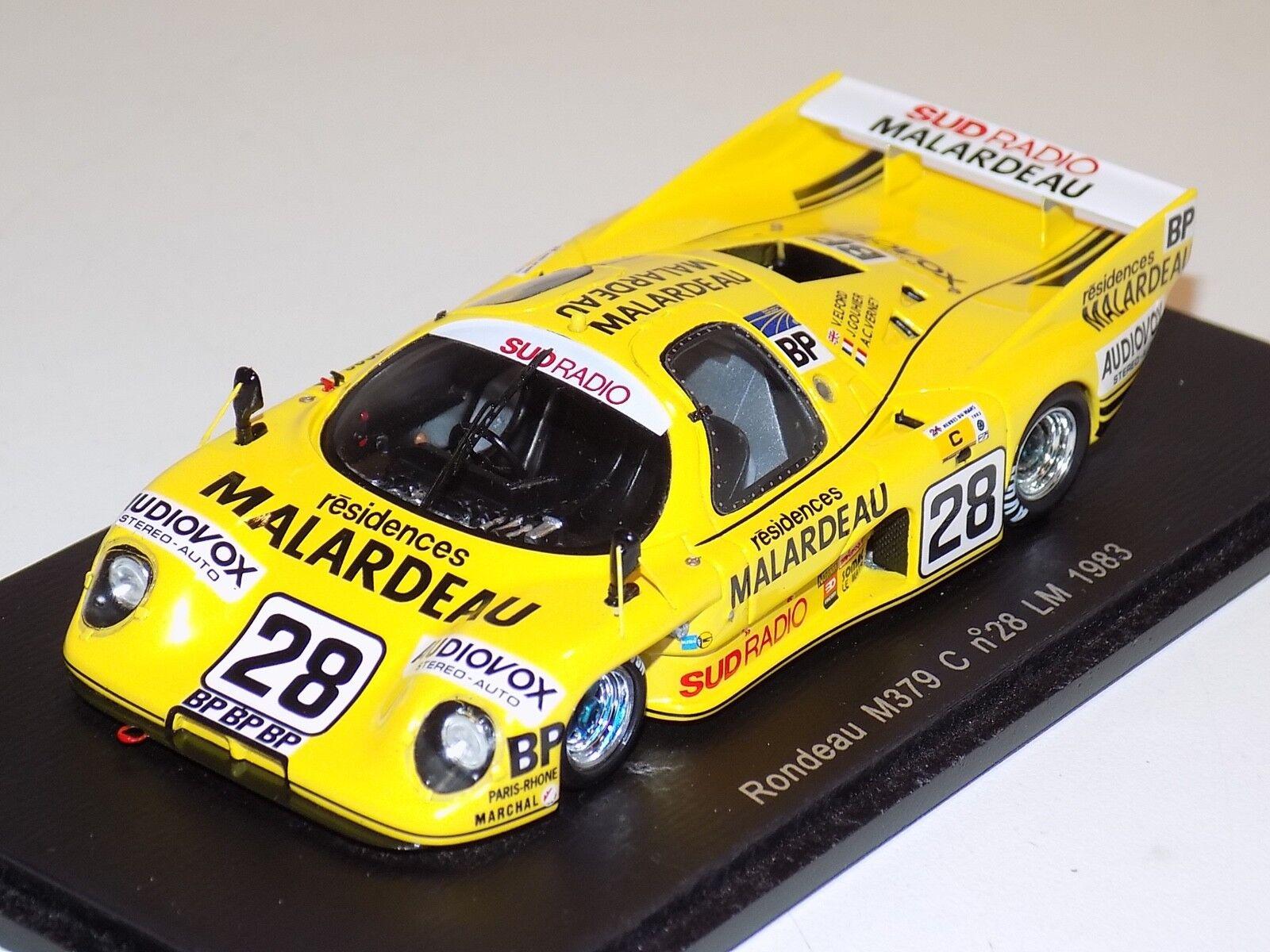 1 43 Spark Rondeau M379 voiture  28 1983 24 H le mans S2269