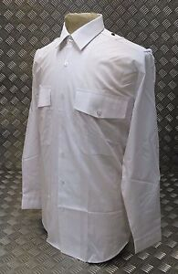 Genuine-British-Police-Issue-White-Shirt-Old-Bill-Bobby-Long-or-Short-Sleeve