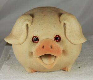 MOTION ACTIVATED SENSOR LED EYES 17cm GRUNTING PIG FUN GIFT /& SECURITY ALARM