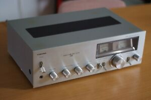 Vintage-Retro-Toshiba-Amplifier-115-Power-Meter-Made-in-Japan-Rare-Good-Cond