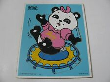 VINTAGE 1981 PLAYSKOOL SHIRT TALES BOUNCING TAMMY WOODEN TRAY PUZZLE
