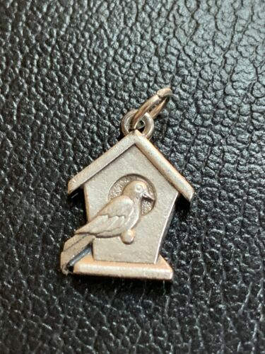 Extremely Rare james avery birdhouse charm Sterlin