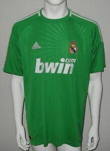 6fbffb95e Image is loading Real-Madrid-Adidas-Football-Goalkeeper-Jersey-Shirt- Casillas-