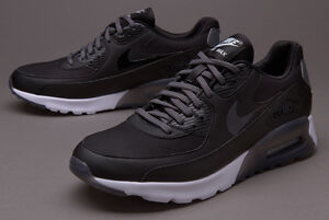 Womens Nike Air Max 90 Ultra Essential Black Running Shoes agsbeagle ... aa1c73167