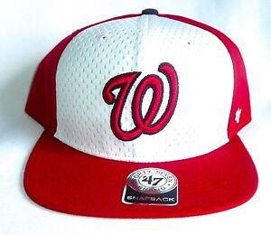 info for 25d33 38520 Image is loading WASHINGTON-NATIONALS-039-47-Brand-Snapback-Backboard-Hat-